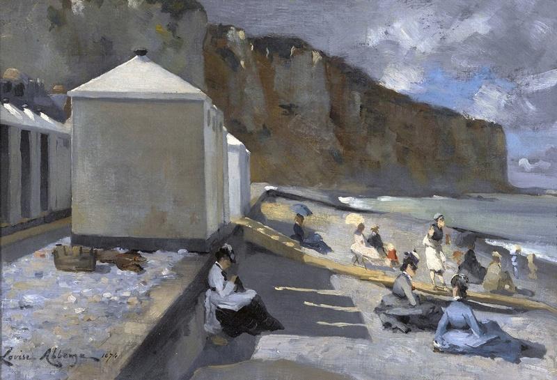 La Plage : Artistes peintres, illustrateurs, photographes... - Page 8 Louise10