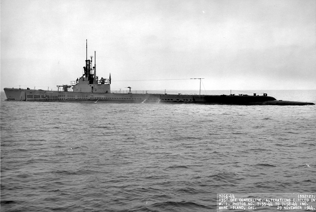 Sous-marin USS GATO 1943 1024px10
