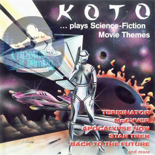 Koto - ...Plays Science-Fiction Movie Themes (CD) [1993] Fronta22