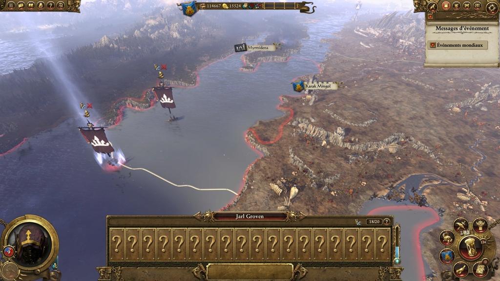 Warhammer Total War - Rapport de Campagne Naine 20161010
