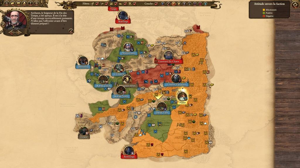Warhammer Total War - Rapport de Campagne Naine 20161013