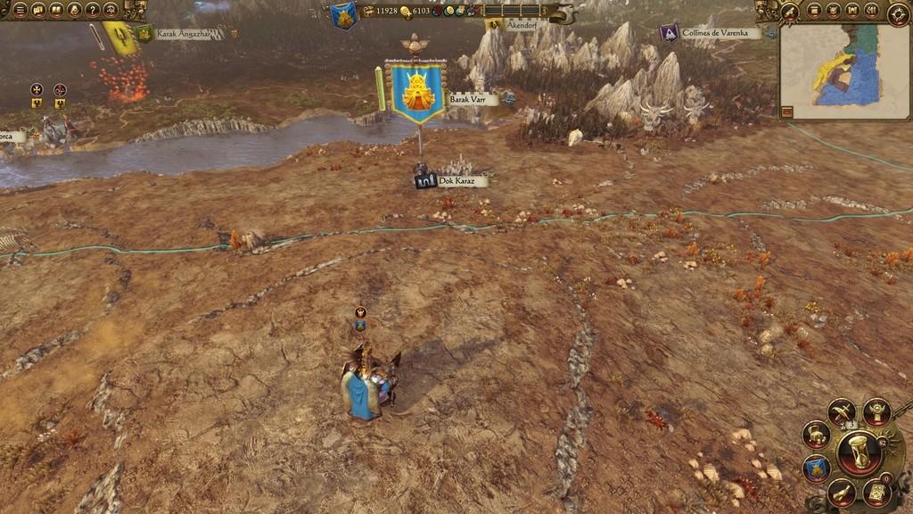 Warhammer Total War - Rapport de Campagne Naine 20161014