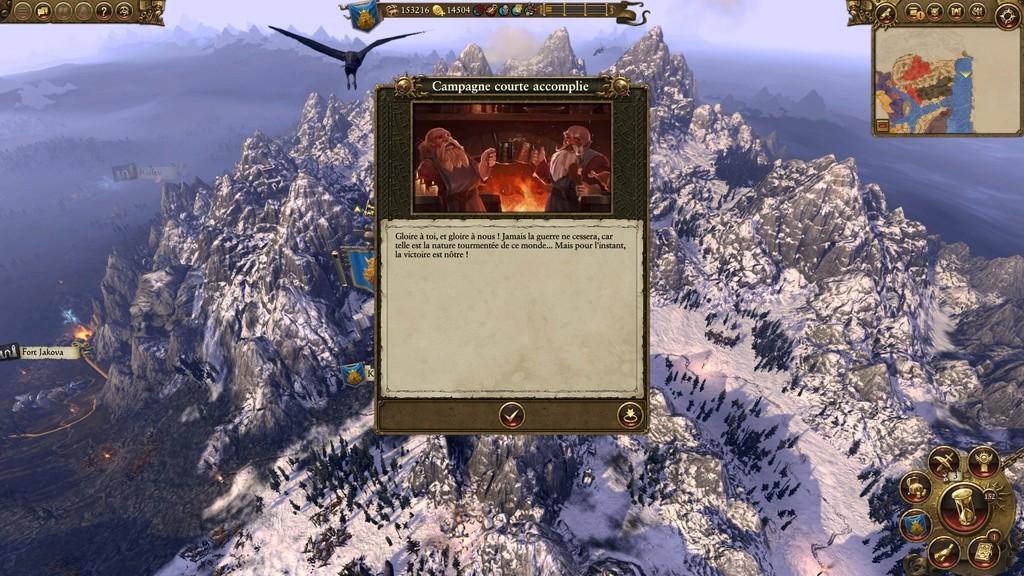 Warhammer Total War - Rapport de Campagne Naine 20161026