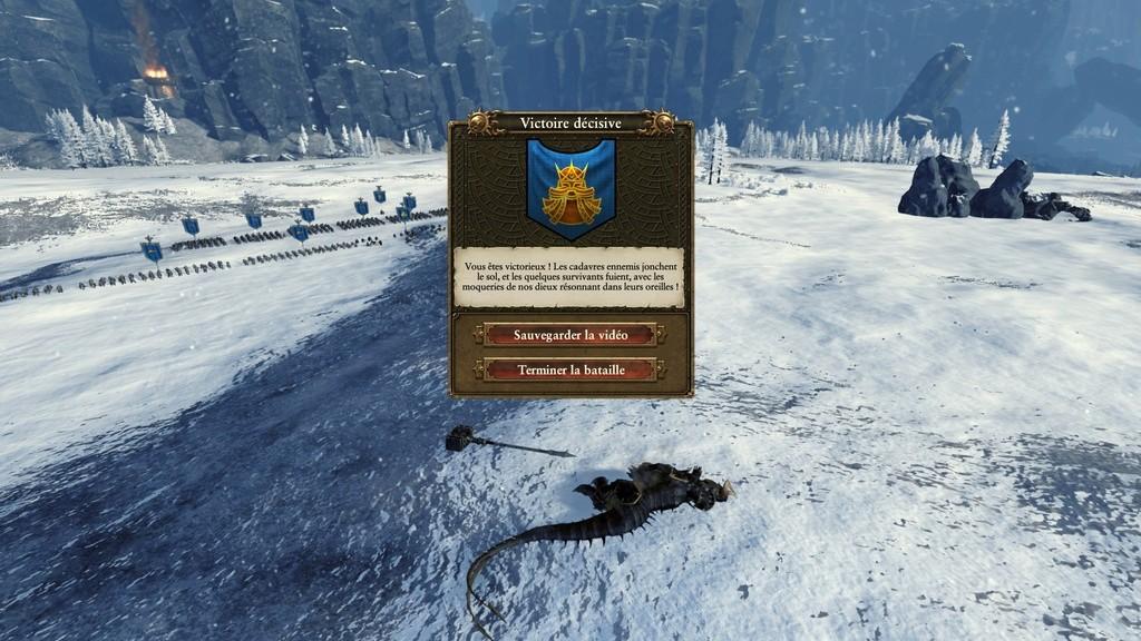 Warhammer Total War - Rapport de Campagne Naine 20161027