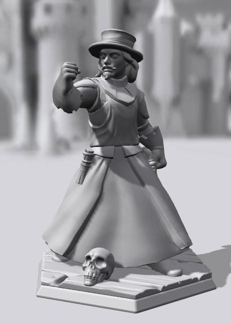 Galerie de Personnages 3D Hero Forge Inquis10