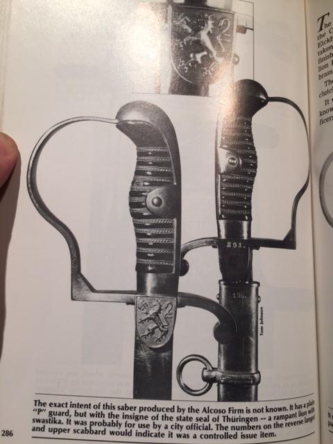 Sabre d'apparat  Officiel  / Fonctionnaire de Thuringe   Img_3619