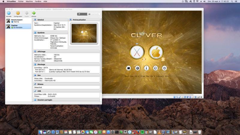 Mac OS X Install DVD Créateur Capita10