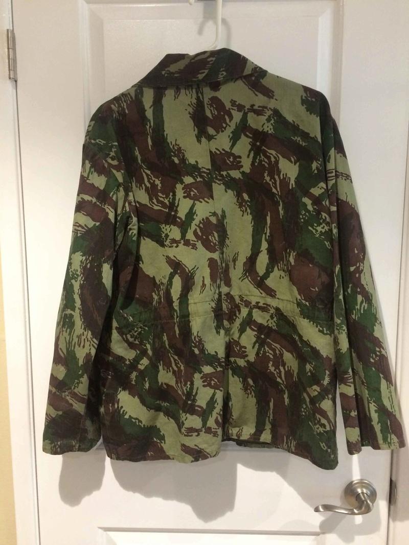 Are there repro Portuguese Lizard type uniforms around? Back11