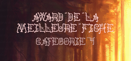 [INTRIGUE 6] foire aux questions  - Page 2 Awards10