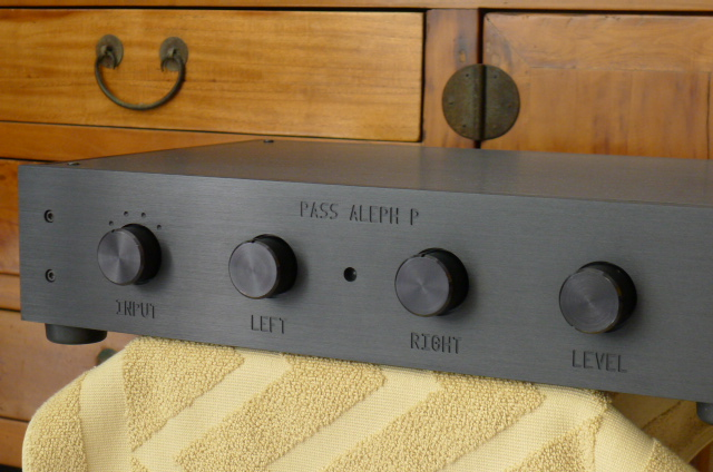 Pass Labs Aleph P Single Ended Class A Preamplifier (Used) SOLD P1120911