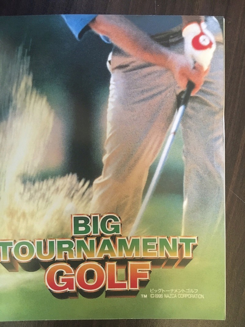 Demande d'authentification notice Big Tournament Golf Fullsi24