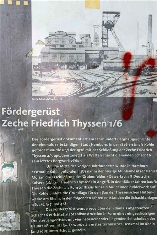 Zeche Friedrich-Thyssen Schacht 1/6 115