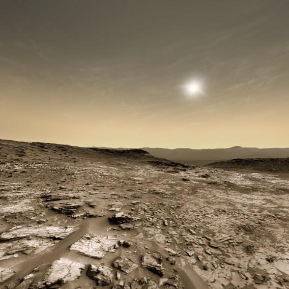Petit tour sur Mars... 20160916