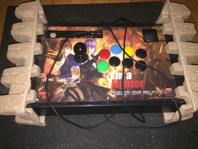[ESTIM] Stick arcade 360/PC DOA5 Hori Img_5512