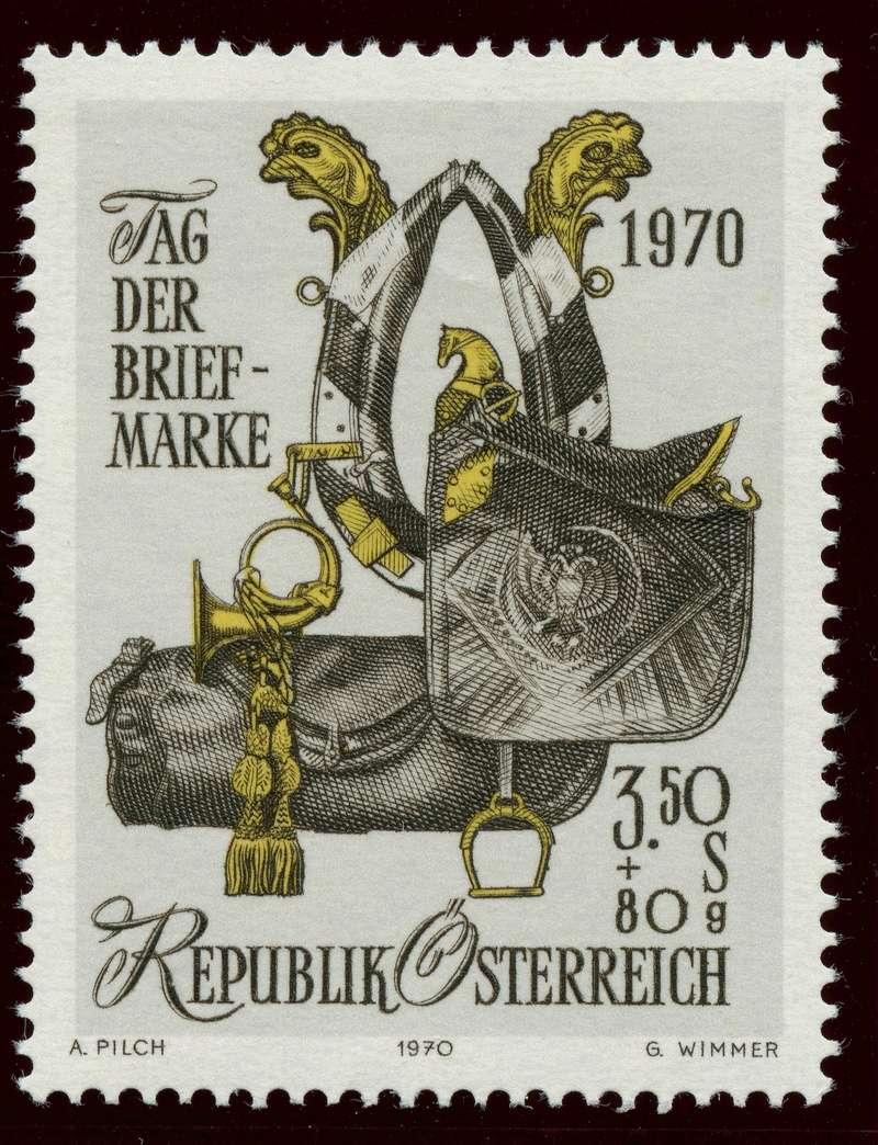 Österreich, Briefmarken der Jahre 1970 - 1974 Ank_1316