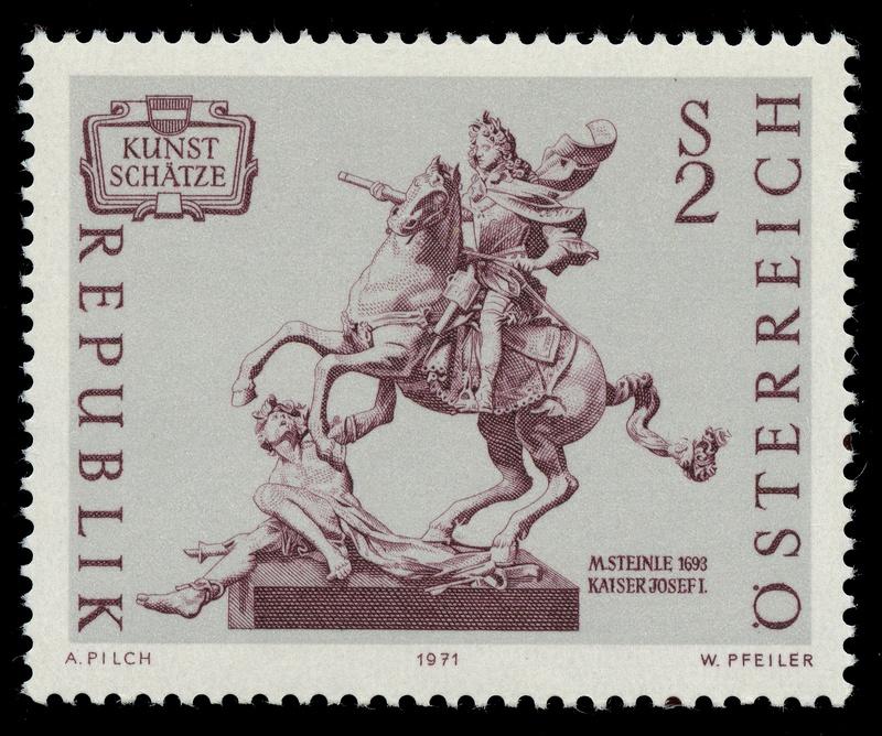 Österreich, Briefmarken der Jahre 1970 - 1974 Ank_1323