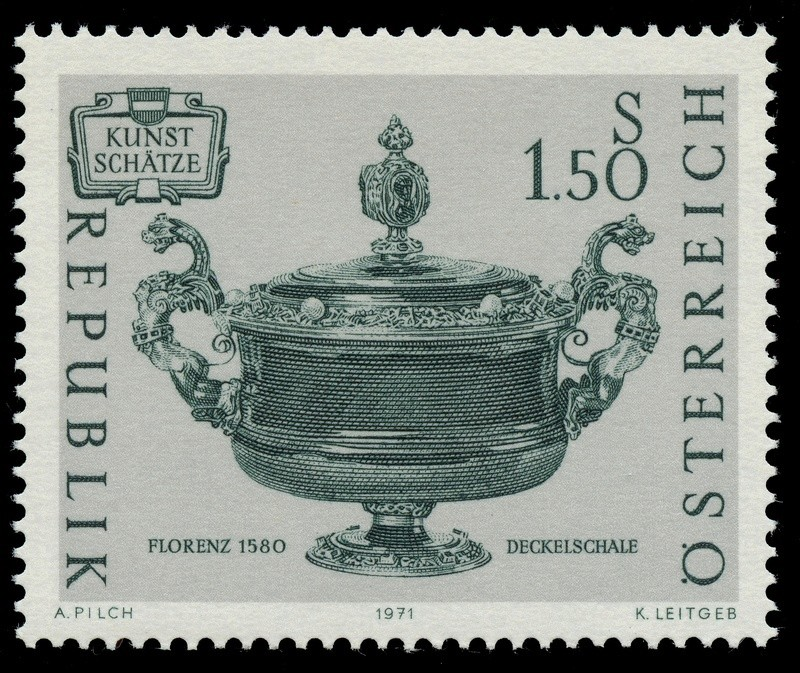 Briefmarken - Österreich, Briefmarken der Jahre 1970 - 1974 Ank_1325