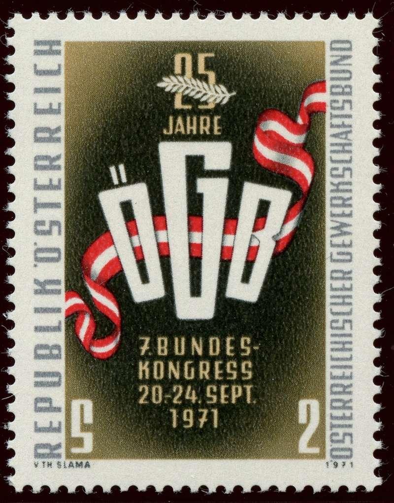 Briefmarken - Österreich, Briefmarken der Jahre 1970 - 1974 - Seite 2 Ank_1337