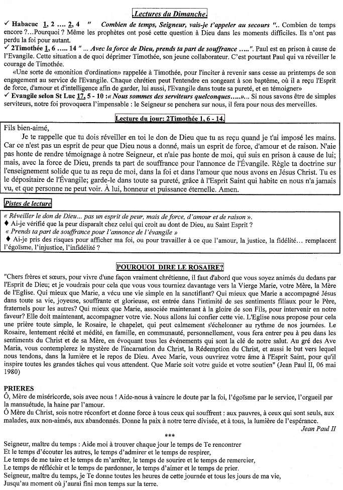 Trait d'union du 2 octobre 2016 Tu161011