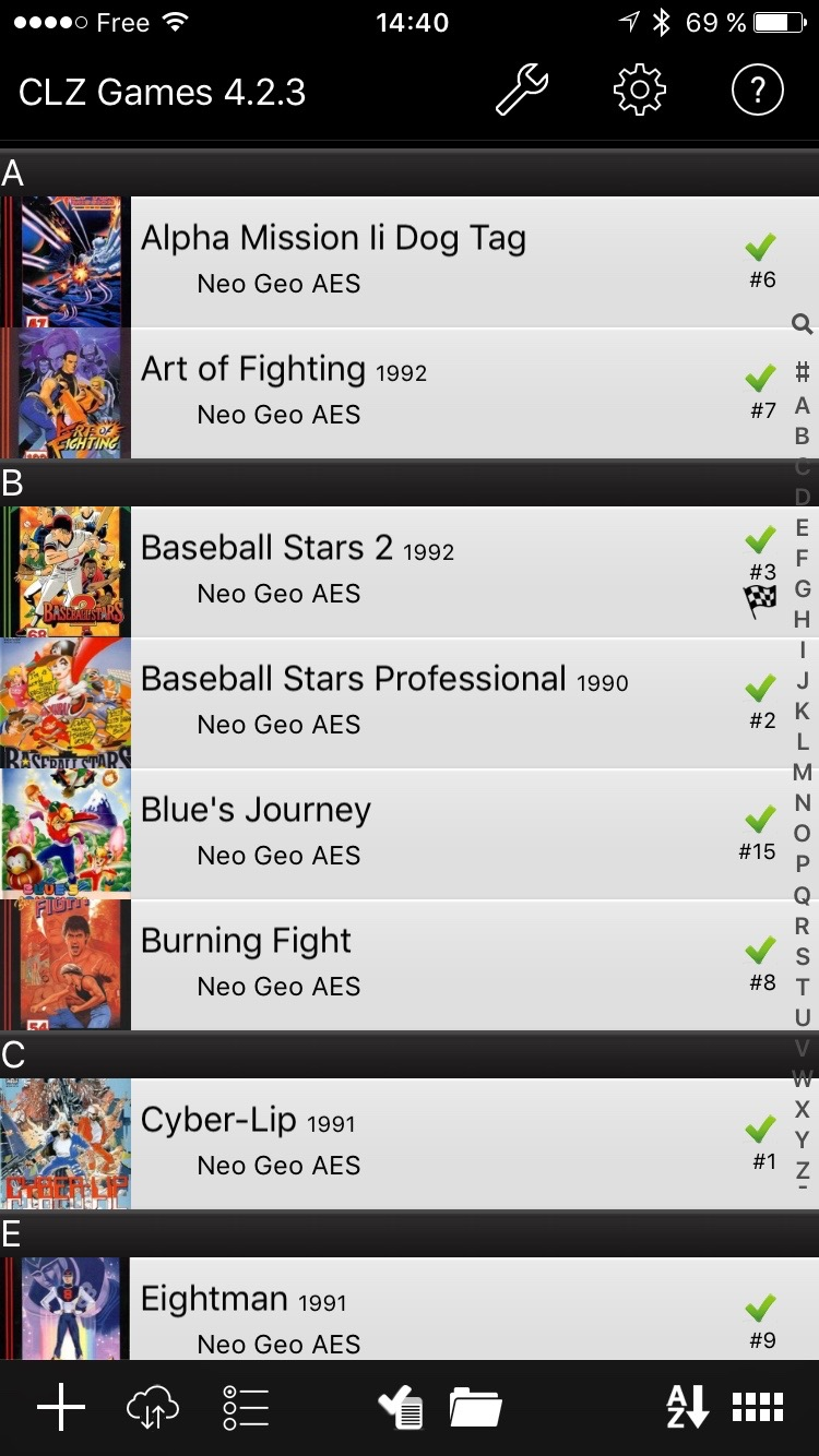 Application Iphone collection Neo Geo Img_0214