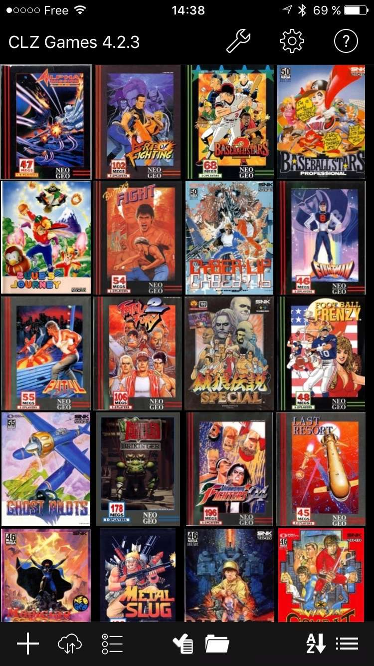 Application Iphone collection Neo Geo Img_0215