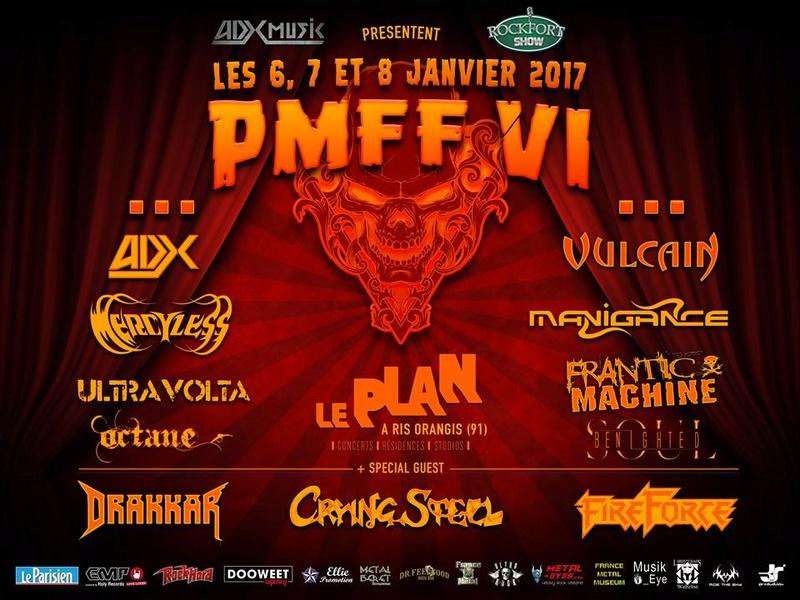 PMFF VI (JANV 2017) PARIS METAL FRANCE FESTIVAL VI 14732110