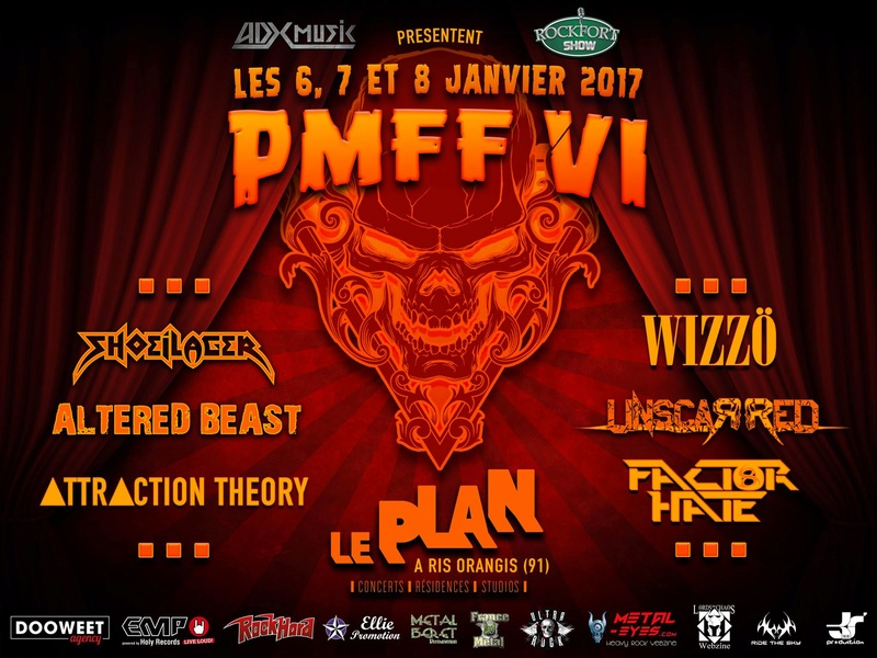 PMFF VI (JANV 2017) PARIS METAL FRANCE FESTIVAL VI 14753210