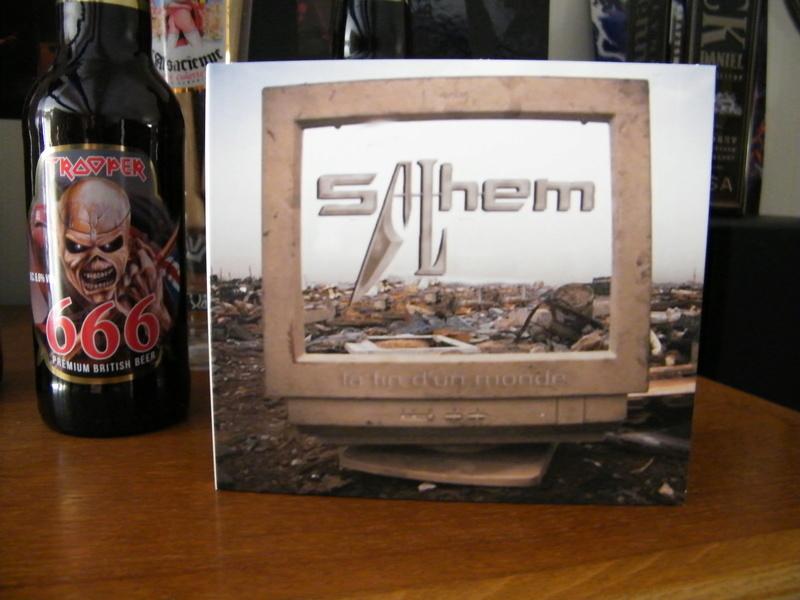 SALHEM La Fin D'un Monde (2016) Heavy Metal Dscf4617