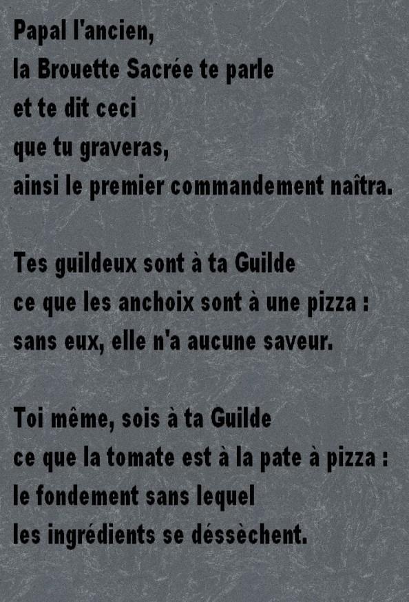 Les commandements Tablet10