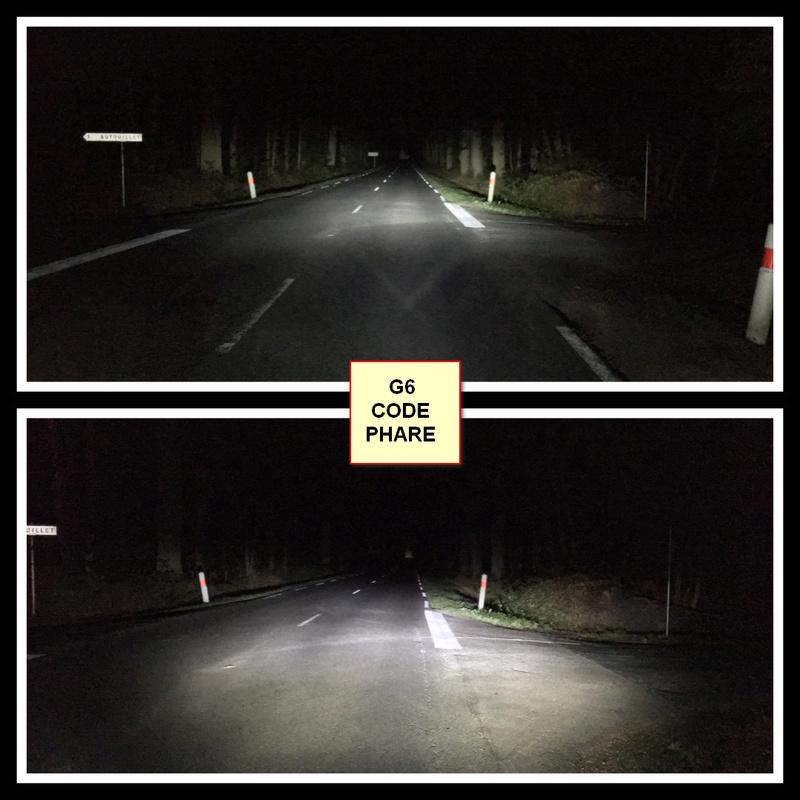 TEST nouvelle ampoule LED H4 310