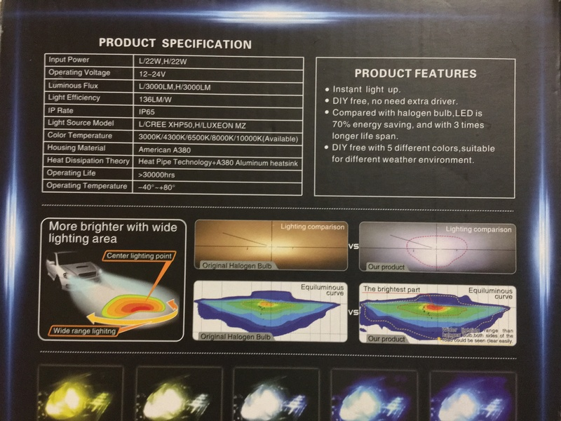 TEST nouvelle ampoule LED H4 Img_0710