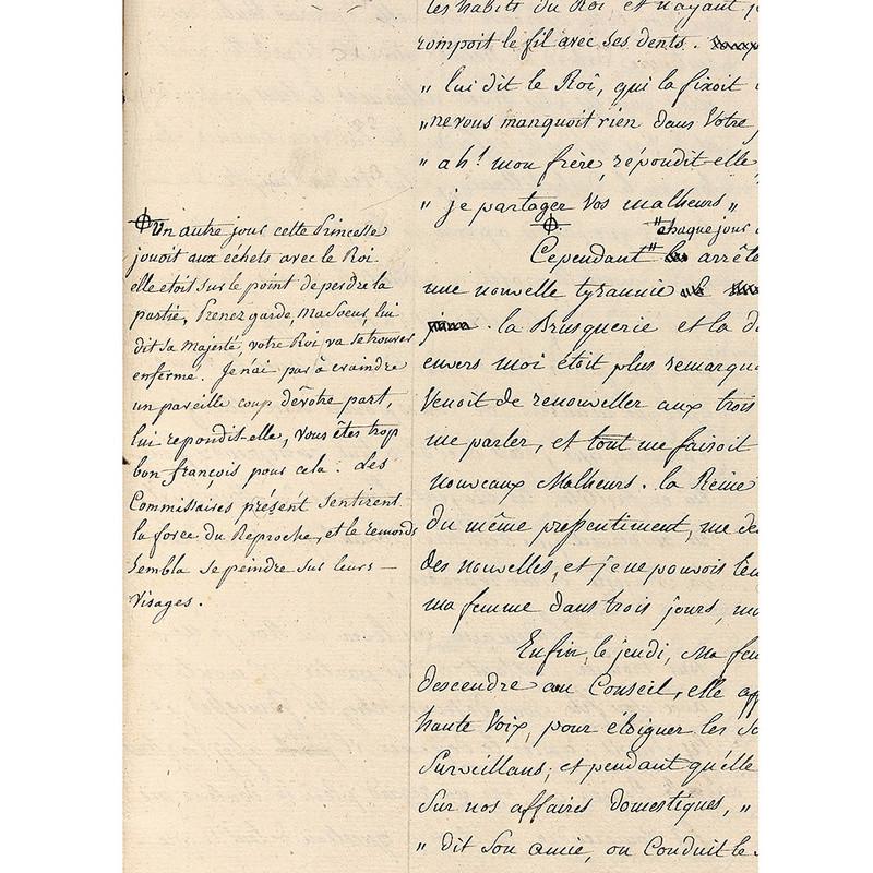 Vente exceptionnelle de manuscrits de Mr Cléry 14758212