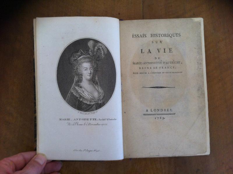 A vendre: livres sur Marie-Antoinette, ses proches et la Révolution - Page 5 _5711