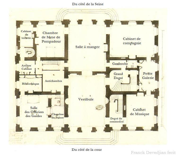 Le château de Bellevue et le Hameau de Mesdames Plan_d10