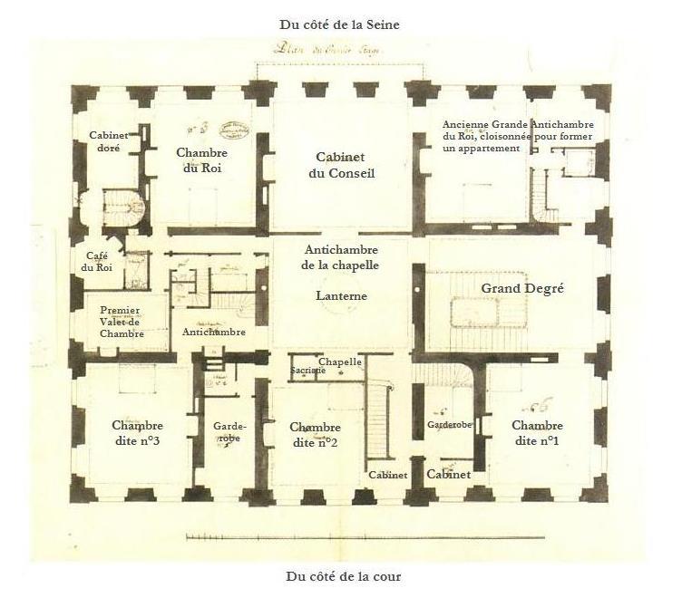 Le château de Bellevue et le Hameau de Mesdames Plan_d11