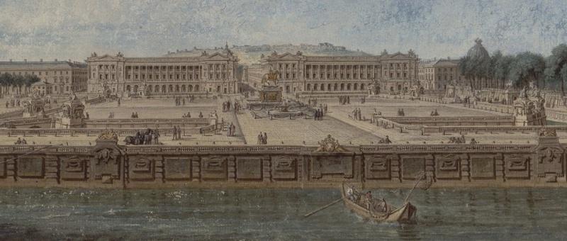 Le Paris de Marie Antoinette: vues et descriptions - Page 2 Vue_pl10
