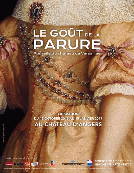 Le goût de la parure. Portraits du Château de Versailles au Château d'Angers Zcarc10