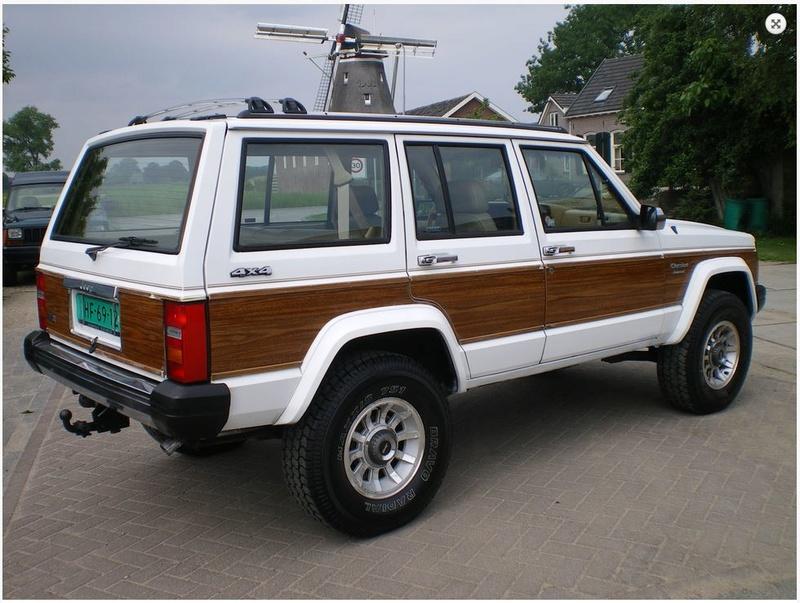 Jeep XJ Cherokee Wagoneer 00310