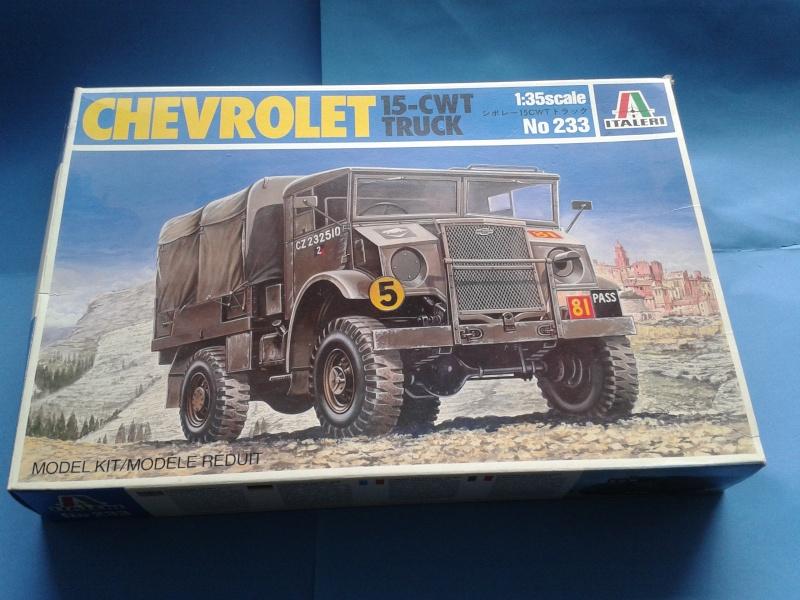 [ITALERI] Chevrolet 15-CWT Truck (1/35°) 3181010