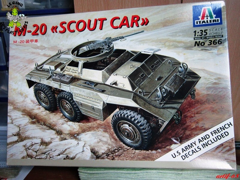 "M-20 ""scout car [1/35° de ITALERI] Img_4978"