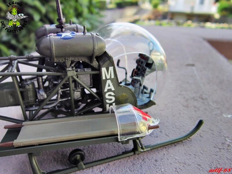 Bell H-13H  du film M.A.S.H au 35° de REVELL (les photos) Img_5029