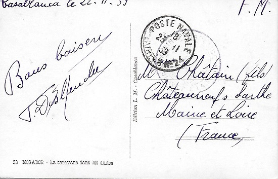 Bureau Naval N° 24 Casablanca Casa10