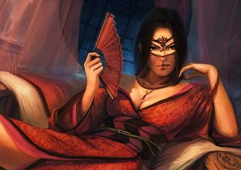 Ashiko Bayushi - membre du clan du Scorpion Avatar15