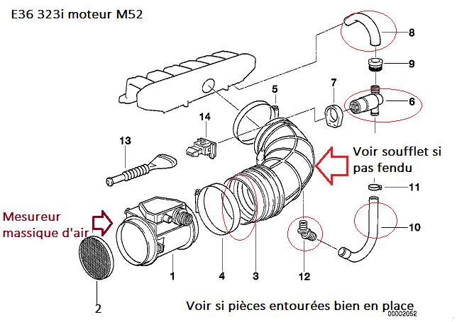 [ BMW e36 323i M52 an 1996 ] Moteur ne démarre plus (Résolu ) 13_e3610