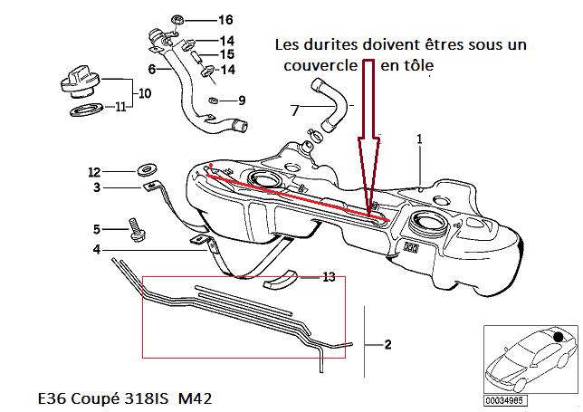 [ bmw e36 318is coupe an 1994 ] fuite d'essence coté réservoir 16_e3611