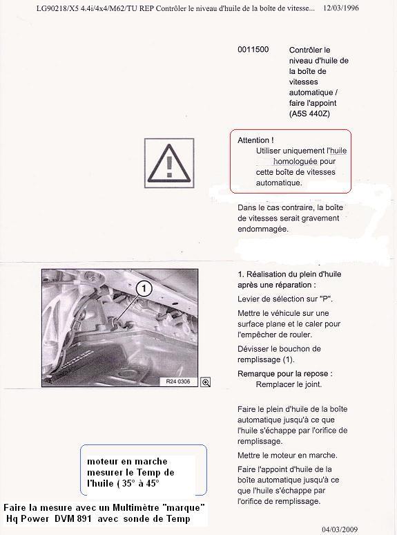[ BMW E60 530 DA an 2004 ] Vicdange boite automatique 24_bva10