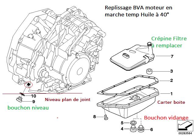 [ mini R50 1.6 an 2002 ] bouchon remplissage boîte vitesse automatique ( Résolu )  24_bva11