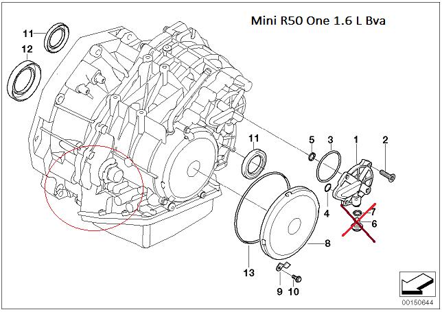 [ mini R50 1.6 an 2002 ] bouchon remplissage boîte vitesse automatique ( Résolu )  24_joi10