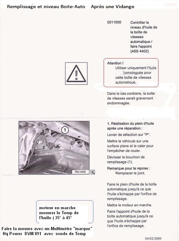 [ fiche technique BMW ] Boite de vitesses automatique 5 rapports A5S 440Z 24_rem10