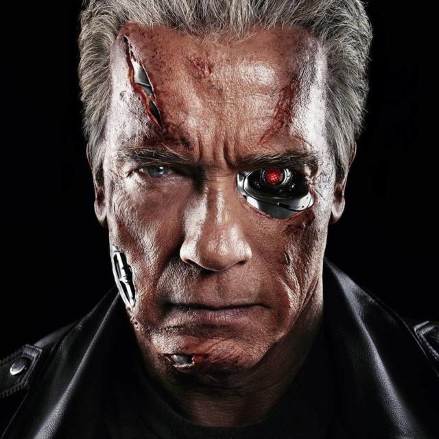 Arnold Schwarzenegger se balade en Hummer électrique Mv5bmd10